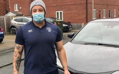 Stourbridge Rugby help with food deliveries in lockdown