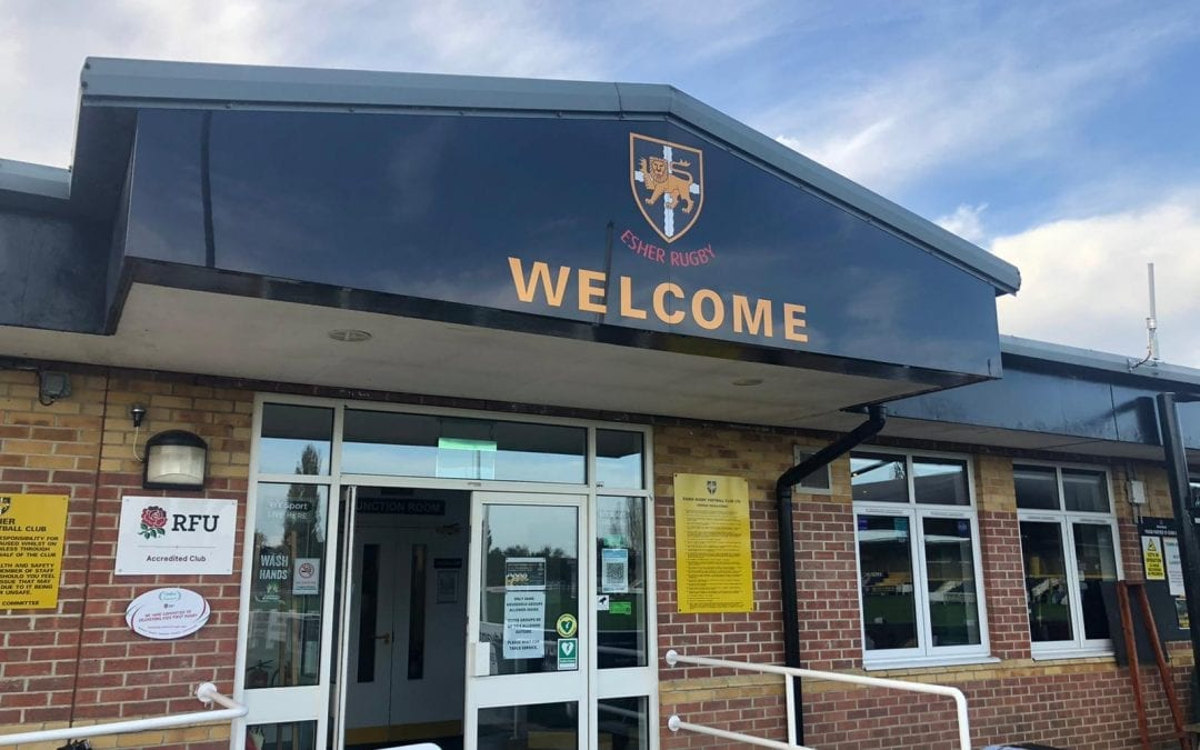 Esher Rugby start laptop and tablet initiative