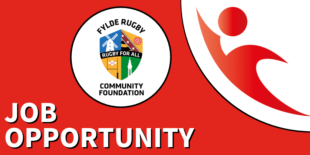 Rugby Development Manager at Fylde Rugby Community Foundation – Apply Now!