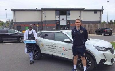 Bournville RFC deliver community food project