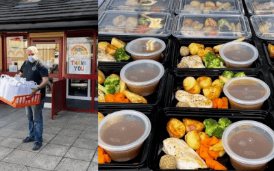 Stourbridge Rugby deliver 750 meals to local community